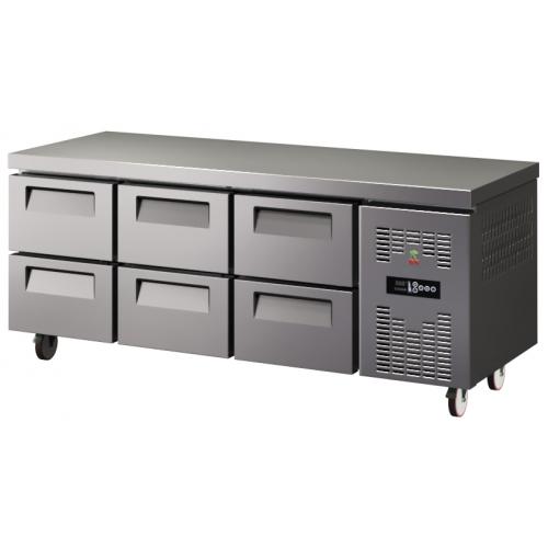 Рабочий холодильный стол Berry 6