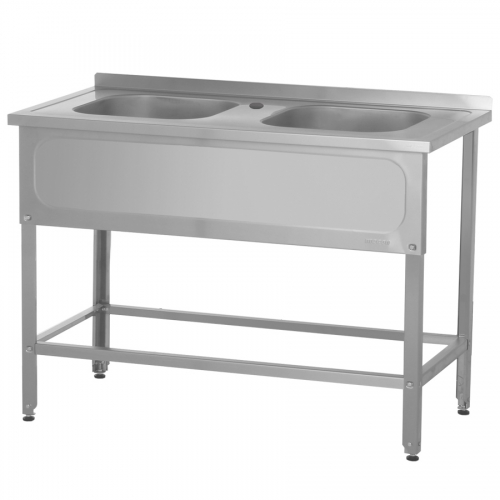 Моечная ванна односекционная цельнотянутая BМЦб-600/600